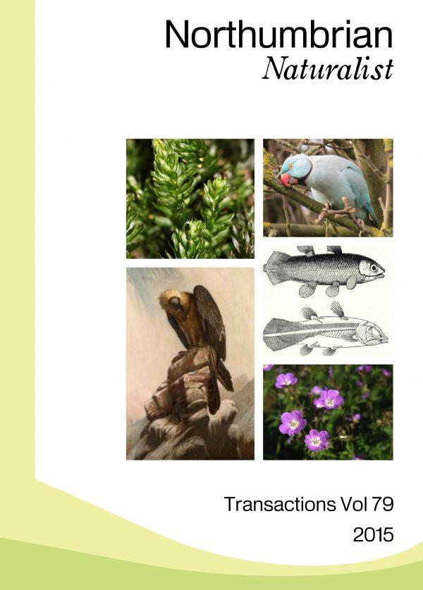 Northumbrian Naturalist Cover 2015 vol 79