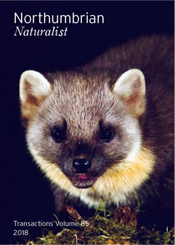 Northumbrian Naturalist Vol85 2018 Pine Martin Front Cover