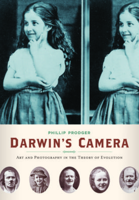 Book cover: Darwin's Camera, by Phillip Prodger